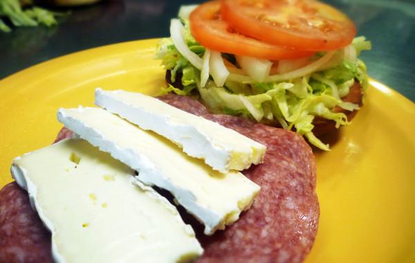 Salami & Brie Sandwich $8.99