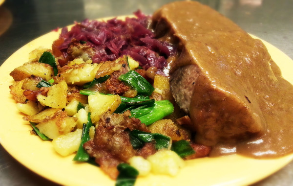 Sauerbraten (Lunch) $8.75