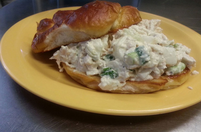 Chicken Salad Sandwich (Lunch) $6.75