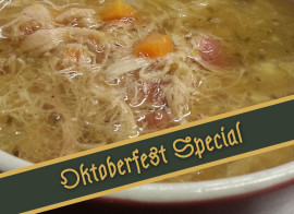 Braised rabbit stewed with garden vegetables – Oktoberfest Special
